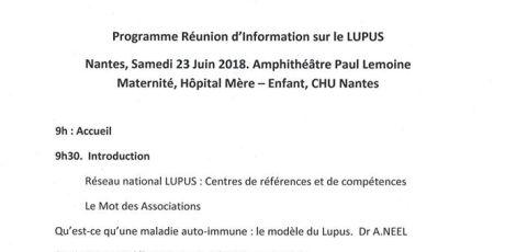 Conférence à Nantes le 23 Juin 2018