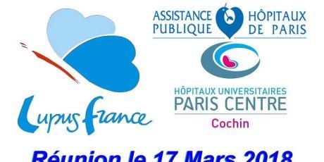 Conférence médicale le 17 Mars 2018,  Hôpital COCHIN Paris